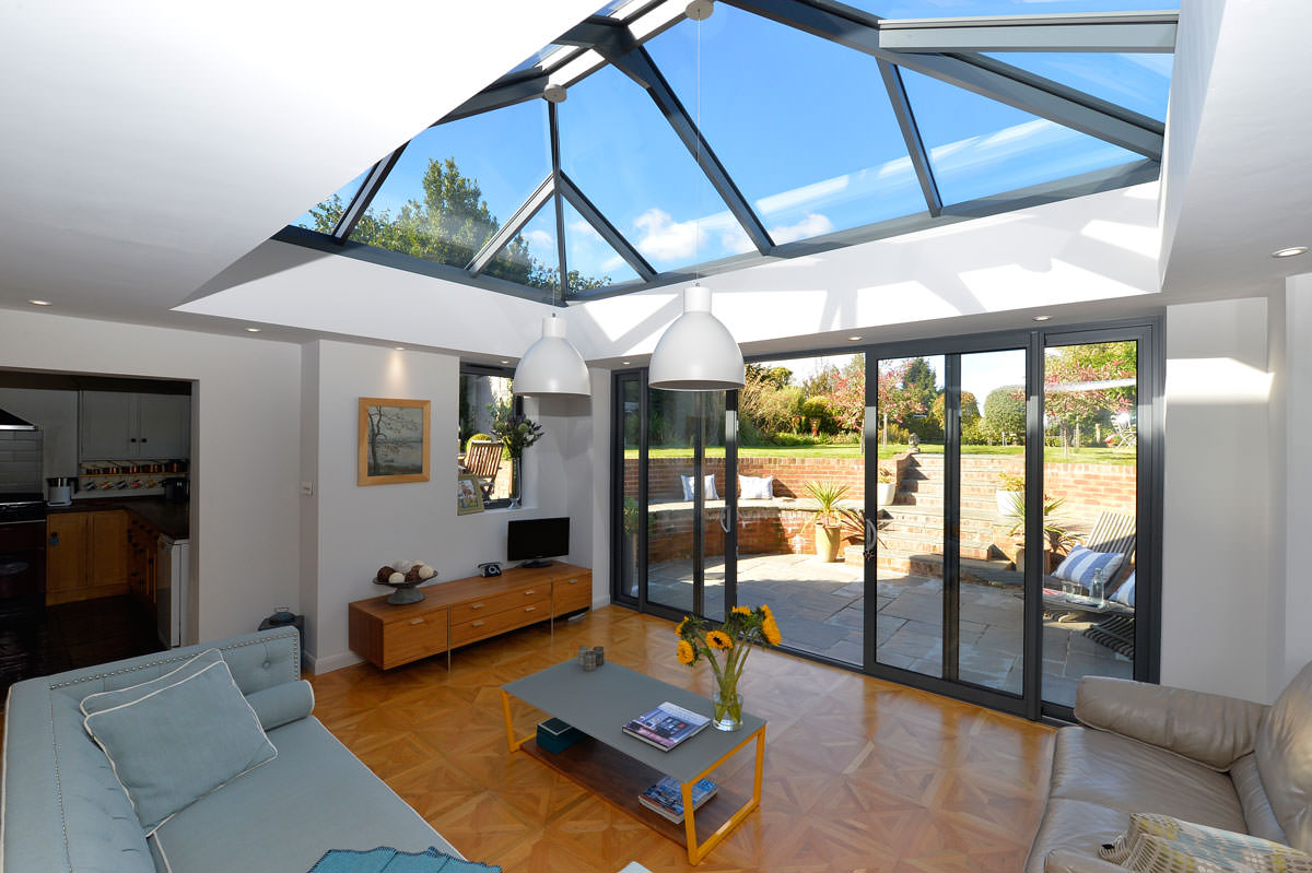 Efficiency Kitchen Design Roof Lanterns Aluminium Roof Lanterns Aldershot Surrey