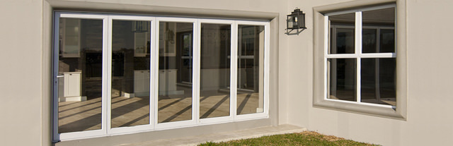 UPVC bi-folding doors