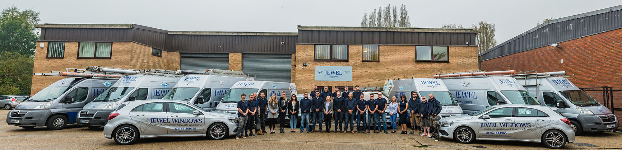 Jewel Windows Team Surrey