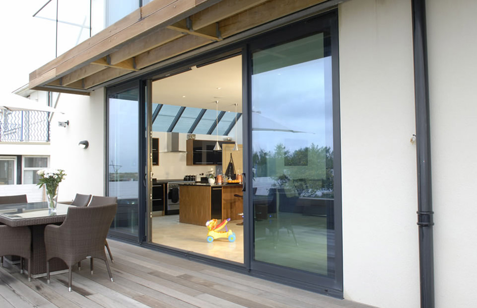 Aluminium Patio doors Woking