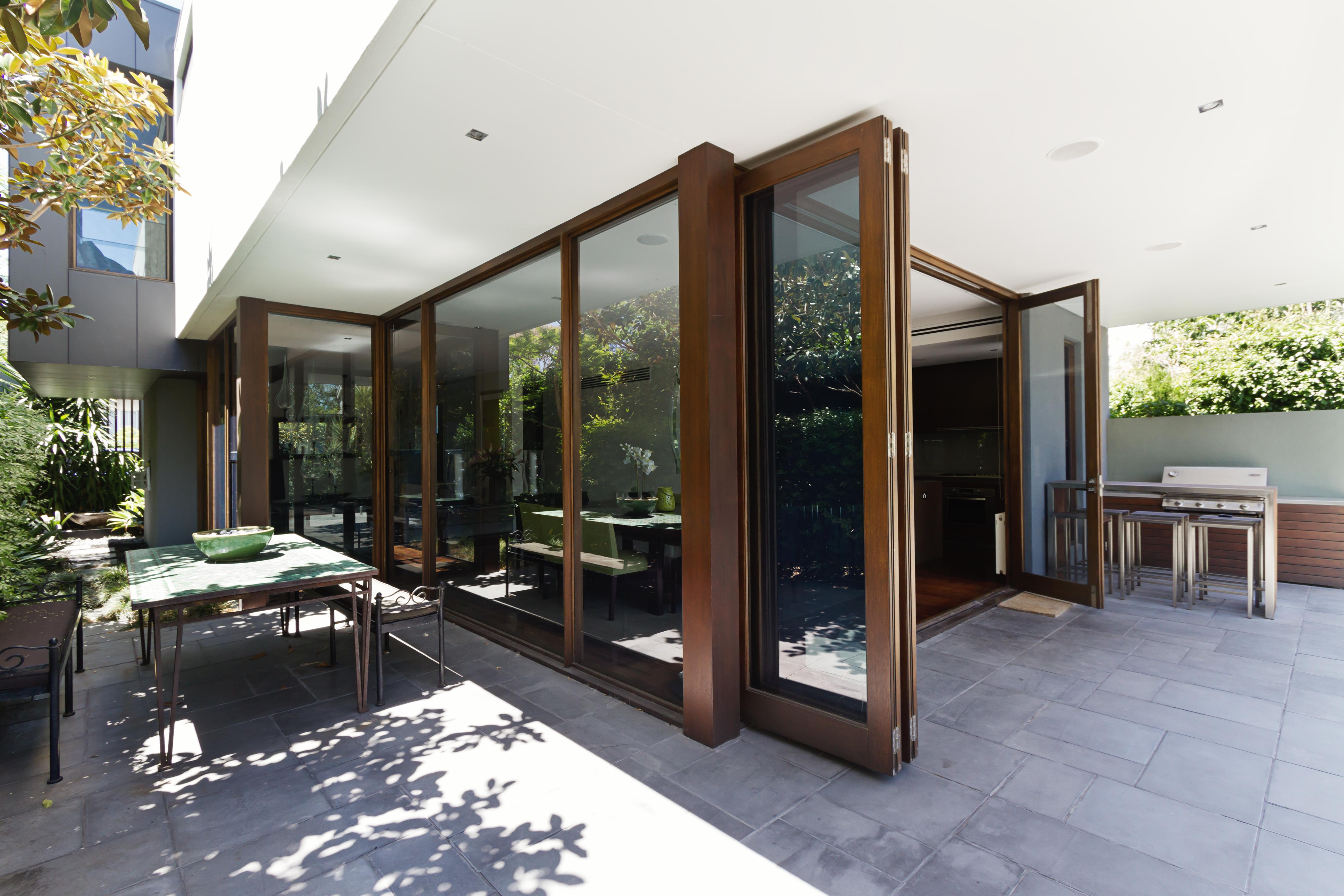 uPVC Bi-Fold Door