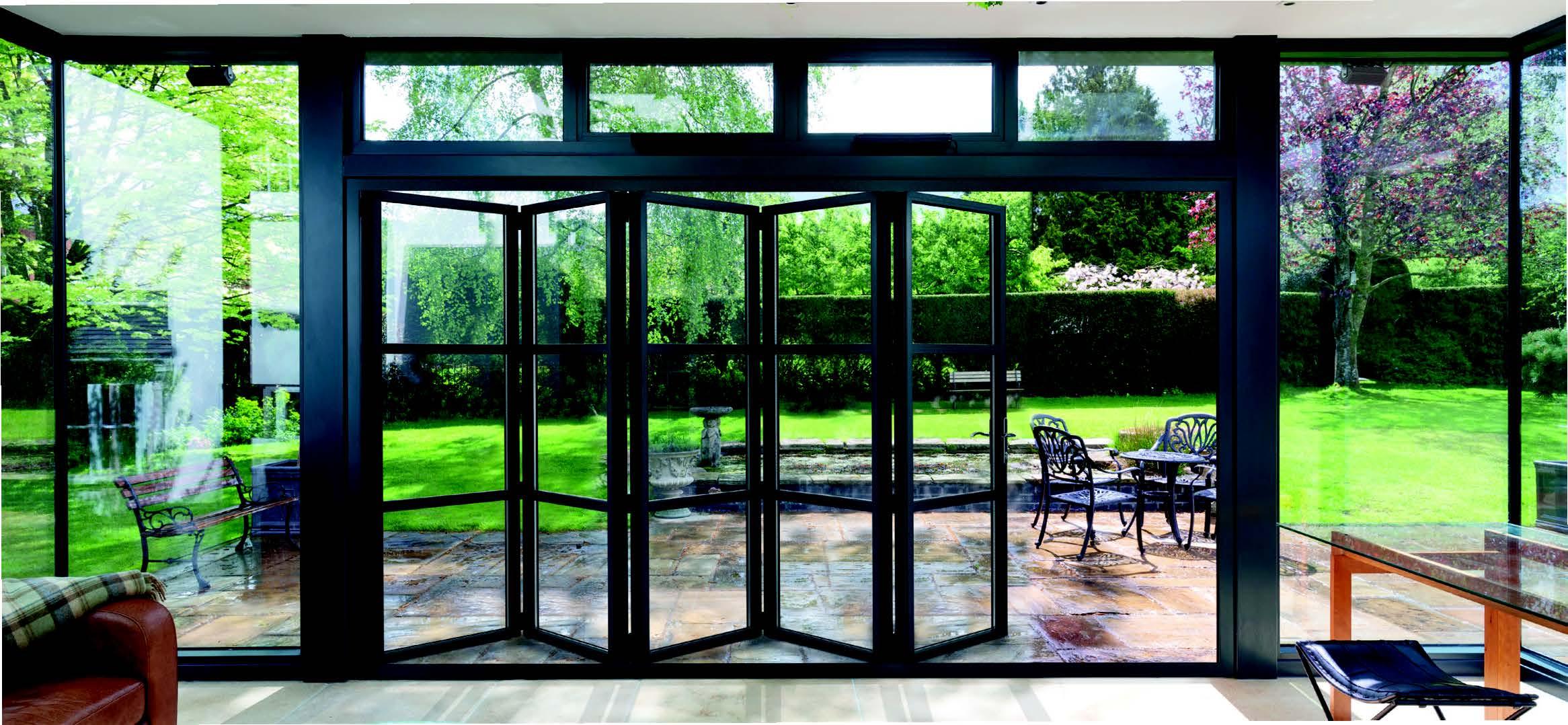 Aluminium Bi-Fold Doors Surrey