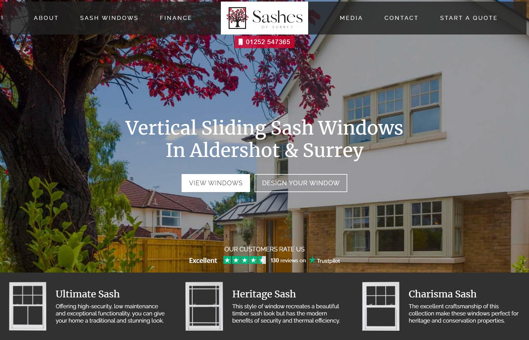 Sashes of Surrey