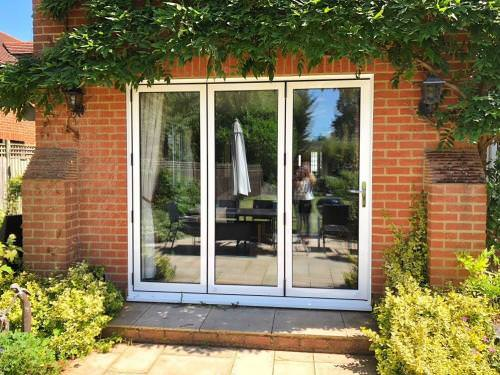 White Bifolds